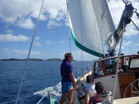 Sail and Snorkel in Cades Reef