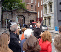 Dublin Historical Walking Tour including Trinity College