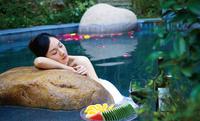 Public Hot Spring Bathing Experience At Jiuhua Resort And Summer Palace Visit