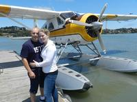 Private Romantic Sunset Champagne Seaplane Tour over San Francisco