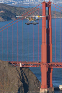 San Francisco 1-Hour Seaplane Tour with Shuttle Transport