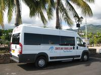 Shared departure transfer to Papeete Airport*