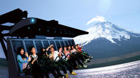 1-Day Mt Fuji Bus Tour with Fuji Airways 4-D and Ninja Experience