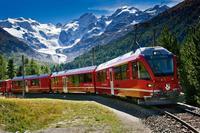 Bahnausflug von Mailand mit dem Bernina-Express durch die Schweizer Alpen