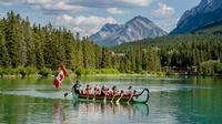 Banff National Park Voyageur Canoe Tour