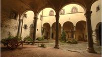 Castle and Cellar near Florence with Visit and Tasting of E V Olive Oil and wine