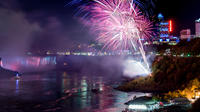 Niagara Falls Illumination Tour with Evening Fireworks Show and Buffet Dinner