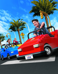 San Diego Round-Trip Theme Park Transport: LEGOLAND California