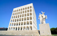 Rome's Fascist Past: Private Walking Tour of Mussolini's EUR District