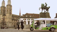 Zurich and Surroundings City Tour by Electric Tuk Tuk