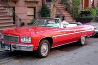 Tour door New York City in een klassieke cabriolet