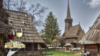Traditions in Bucharest: Village Museum and Wine Tasting Tour