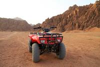 Quadrunner and Bedouin BBQ in the Egyptian Desert*