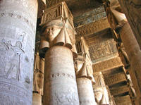Temple of Hathor in Dendara, Egypt*