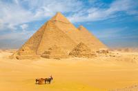Great Pyramids of Giza, Egypt*