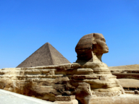 Pyramids of Giza and Sphinx, Egypt*