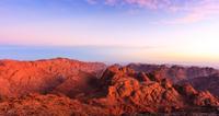 Sunrise over Mount Sinai, Egypt*