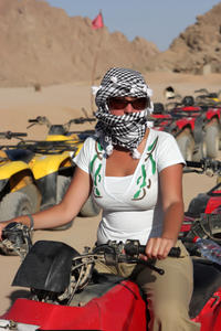 Quad Biking in the Egyptian Desert from Sharm el Sheikh