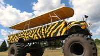 Monster Truck through the Orange Groves from Orlando