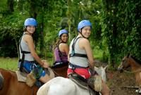 San Jose Combo Tour: Horseback Riding and Sarapiqui River Boat Ride*