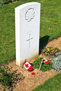 Visit the Canadian Cemetery where 2,043 soldiers are laid to rest
