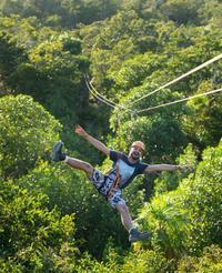 Cancun Jungle Tour: Tulum, Cenote Snorkeling, 4x4 Ride and Ziplining