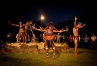 Aboriginal Cultural Tjapukai by Night Tour including Buffet Dinner