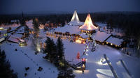 Visit to Santa Claus Village and Snowmobiling to Reindeer Farm from Rovaniemi