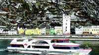 Rhine River Christmas Afternoon Cruise from Rudesheim