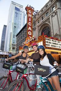 Electric Bikes at Night Tour in Chicago