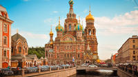Full-Day St. Petersburg Shore Excursion: City Tour Including Peterhof and Early Admission to Hermitage Museum