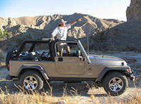 San Andreas Fault Jeep Tour