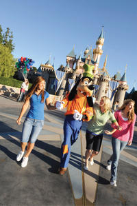 Disneyland or Disney's California Adventure with Transport from Los Angeles
