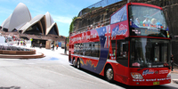 Sydney Combo: Hop-On Hop-Off Harbor Cruise and Hop-On Hop-Off City Bus Tour*