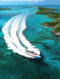Nassau Shore Excursion: Exuma Powerboat Adventure