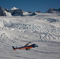 Twin Glacier Helicopter Flight departing Fox Glacier