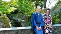 Authentic Kimono Experience at the World Heritage Site, Sengan-en