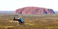 Ayers Rock Helicopter Tour to Uluru, Kata Tjuta and Lake Amadeus: 55 minute flight*
