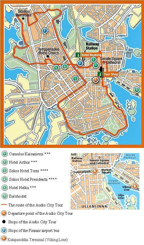 Visite panoramique audioguidée à Helsinki