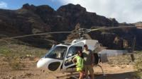 Outdoor Shooting Range and Grand Canyon Helicopter Tour from Las Vegas with Optional ATV Tour