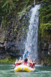 Tully River Full-Day White Water Rafting from Cairns including BBQ Lunch