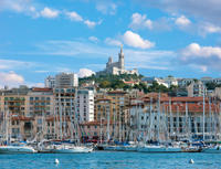 Provence Sightseeing Tour: Marseille and Cassis Calanques Cruise*