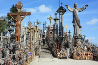 Vilnius Private Tour to The Hill of Crosses Near Siauliai