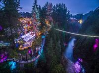 Winter Wonderland Adventure at Vancouver's Capilano Suspension Bridge