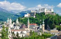 Panoramic Salzburg City Tour plus Austrian Lakes and Mountains Sightseeing Tour*