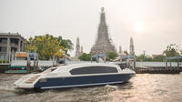 Private Tour: 2-Hour Bangkok Sunset Cruise with Champagne  Private Car Transfers
