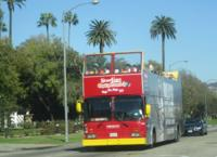 Malibu Stars' Homes Tour and 48 hr Hop-on Hop-off Double Decker Bus