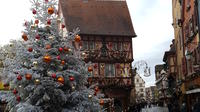 Alsace Christmas Markets Half-Day Tour with Local Winery Visit from Strasbourg