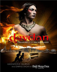 Devdan Treasure of the Archipelago Show with Transfer from Bali
