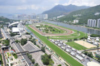 Horse Racing at the Hong Kong Jockey Club Happy Valley